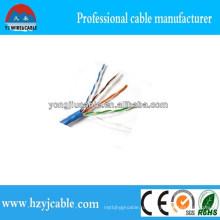 Cat5e LAN сетевой кабель Заводская цена кабеля Шанхайская фабрика Yiwu Лучшее качество CCA Cu