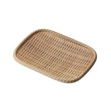 Mélamine en bois comme assiette / plaque de sushi / plaque de rectangle (NK13713-08)