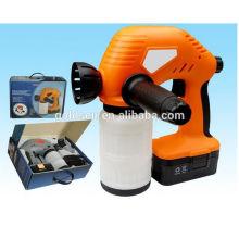 Schnurlose 18V wiederaufladbare elektrische tragbare Wireless Mini Malerei Pistole Sprühen Maschine Ni-Cd batteriebetriebene Hand Spritzgerät