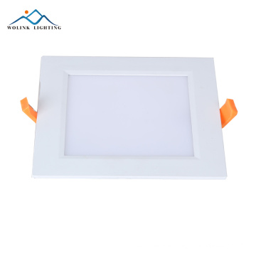 420lm 6w rechargeable emergency ultra thin led panel light housing