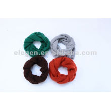 100%ACRYLIC KNITTED SNOOD SCARF