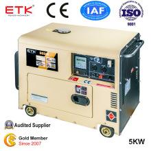 Air-Cooled Single Cylinder Diesel Power Generators (5KW)