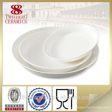 Venta al por mayor fina mesa de comedor de porcelana real conjunto, platos baratos de China