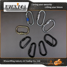 Manufacturer directly supply stainless steel carabiner/ Climbing carabiner/swivel carabiner hook