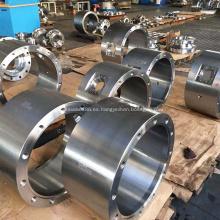 Cuerpo de mecanizado de acabado de acero forjado de válvula de bola