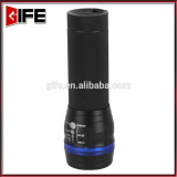 GF-6004-2 3AAA battery high power super bright white LED Zoom flashlight
