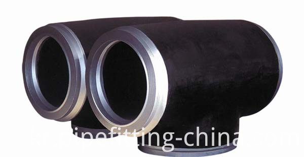 High Pressure Alloy Steel Reducing Tee WP12WP11WP22WP5