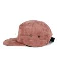 venta caliente 5 panel hip hop suede camper hat