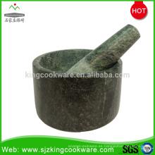 Fábrica de China suministro directo granito piedra barata mortero y maja