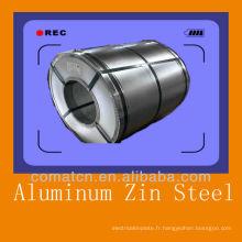 Alu acier zinc pour toiture, prix concurrentiel, bonne qualité