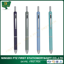 Click function Aluminium 3 in 1 pen