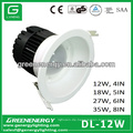 12W LED Downlight Deckenleuchten 4in 5in 6in 8in