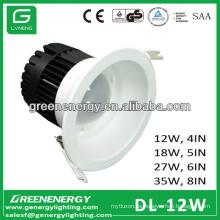 Lámparas de techo con luz LED 12W LED 4in 5in 6in 8in