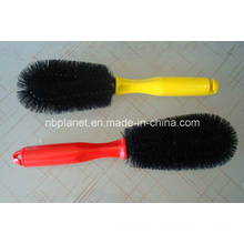Plastic Single Wire Car Tire Cleaning Brush