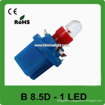 Feux d'instrument à LED auto couleur B8.5D