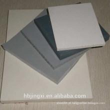 Folha / placa plásticas rígidas coloridas do PVC