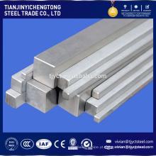 Alibaba fabricado haste quadrada de aço inoxidável ASTM 304L