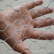 """Malla hexagonal galvanizada de 1/2 """""""