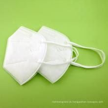 Máscara protetora dobrável KN95 não tecida para uso pessoal