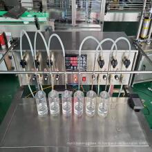 Machine de remplissage de liquide Machine de remplissage de bouteilles