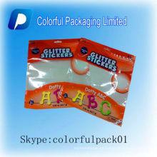 El bolso del caramelo del sello caliente / coloca para arriba grado alimenticio de las bolsas para el caramelo