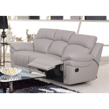 Genuine Leather Chaise Leather Sofa Electric Recliner Sofa (848)