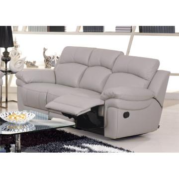 Натуральный кожаный кожаный диван для дивана с электроприводом (848)