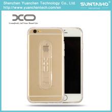 Регулируемый держатель мягкие TPU задняя крышка телефона Чехол для iPhone 6 iPhone 6 плюс