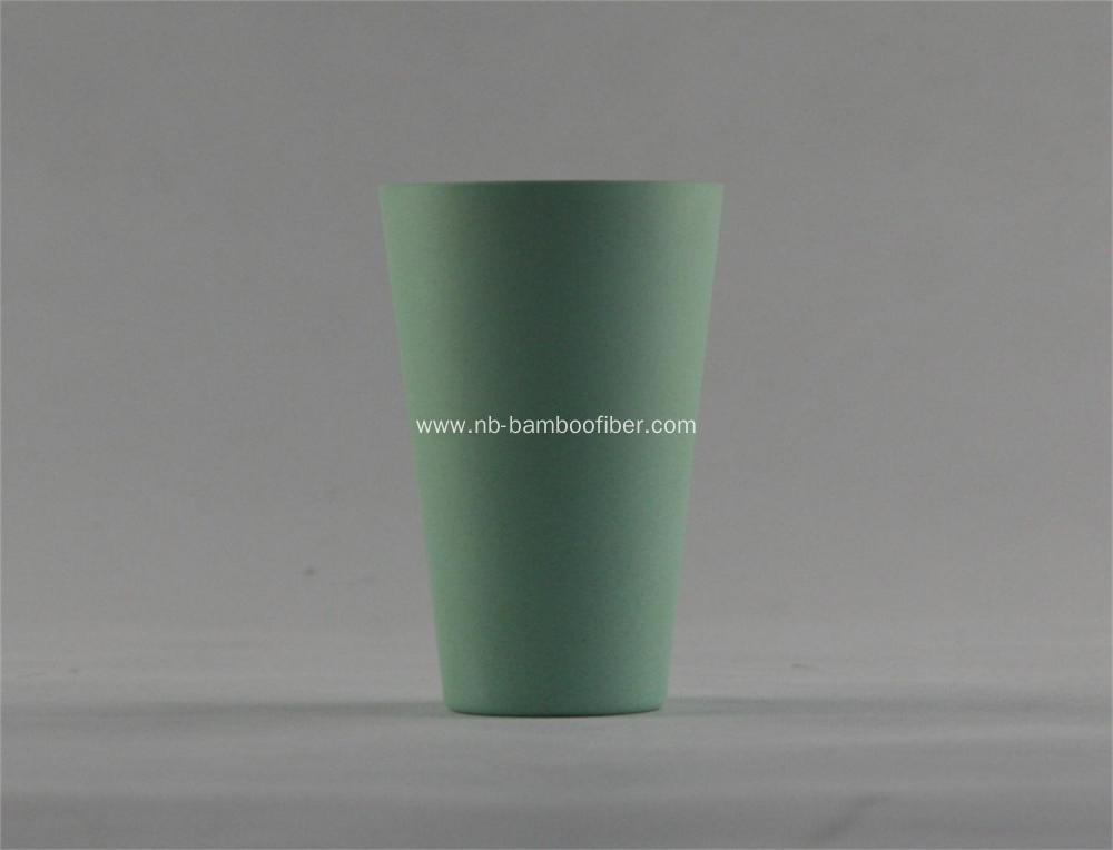 Soft appearance drinking cup
