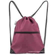 Men & Women Sport Gym Sack Drawstring Backpack Bag