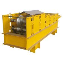 Máquina de formação de rolo de calha de telhado de aço colorido