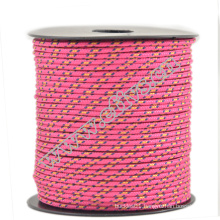 china manufacture wholsale 2mm paracord 3 strand core survival 2 mm diameter 275 paracord for camps