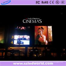 El panel de pantalla móvil de la pantalla LED de P10 SMD al aire libre para hacer publicidad