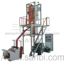 Máquina de soplado de película de rayas de doble color (CE)