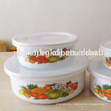 Ice Cream & Chocolate Bowl with PE lid