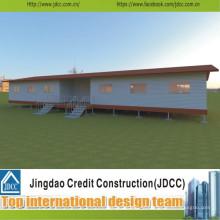 Projeto e construção de sala de aula pré-fabricados de baixo custo