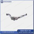 Tubo de escape delantero genuino Everest EB3G 5E211 AC