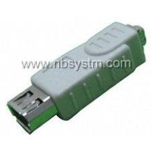 Adaptador de hembra FireWire 1394 4P hembra a 6P