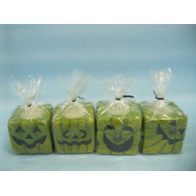 Halloween Candle Shape Ceramic Crafts (LOE2372-D5z)