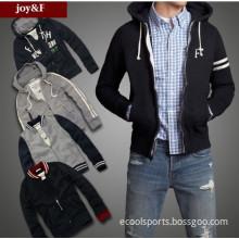 Slim Fit Zipper Men Winter Coat Designer Jacket Brown