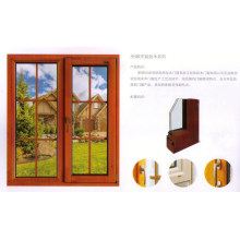 Aluminium + Wood Window (AW-C009)
