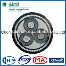 8,7 / 10kV XLPE Isoliert 3 Adern 120sqmm elektrisches Kabel -State Raster