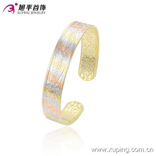 51419 Fashion Simple Gold-Plated Jewelry Bangle in India Style