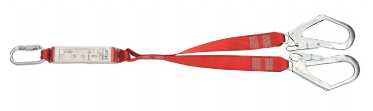 safety lanyard with energy absorber FP072-X