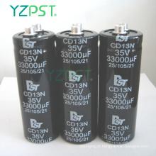 Capacitor eletrolítico de alumínio duplo padrão 14000UF