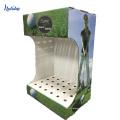 Cremalheira de exposição de alta qualidade livre do clube de golfe do cartão do suporte