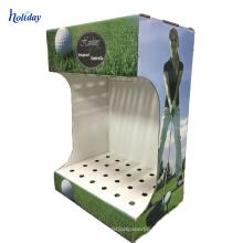 Estante de exhibición libre del club de golf de la alta calidad de la cartulina del soporte