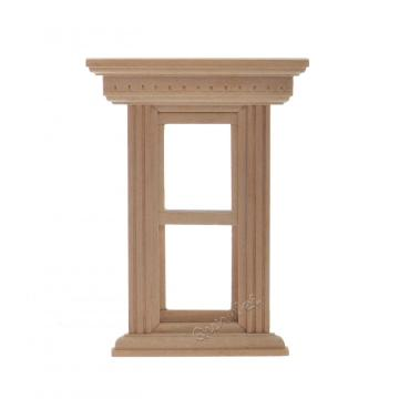 Reliable for Dollhouse Miniatures Furniture Hardware Dollhouse wooden window DIY wholesale export to Portugal Factories