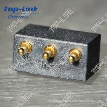 Pino de contato carregado mola personalizado (conector de pino elétrico pogo)