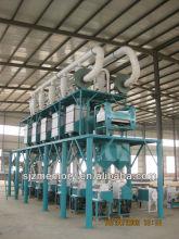 60 T/D maize flour mill equipment
